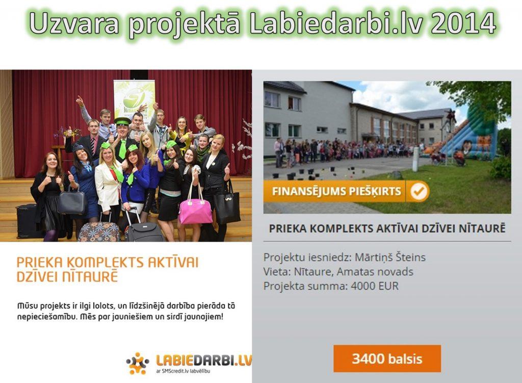 Nitaureni Labie darbi projekti 2014
