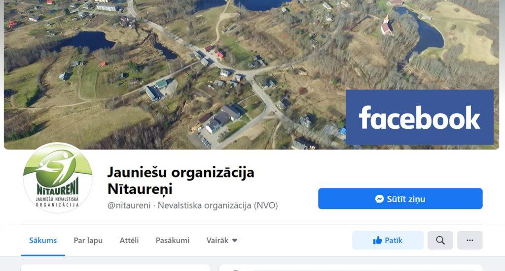 Nitaureni facebook lapa