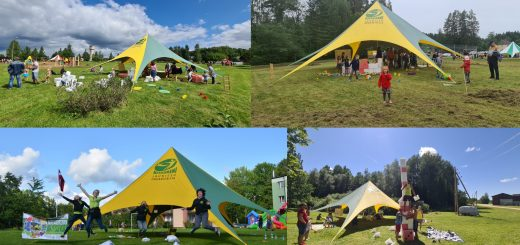 Nitaurenu liela aktivitasu telts