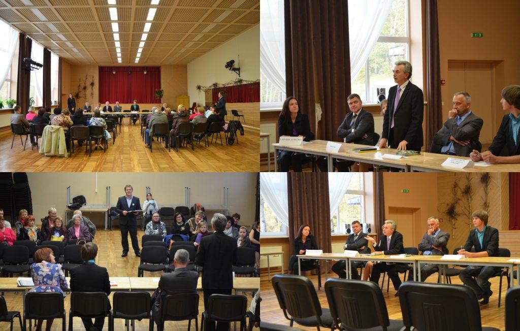 Saeimas debates Nitaure